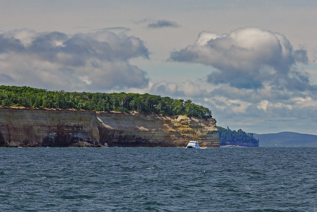 Choppy Water at Pictured Rocks