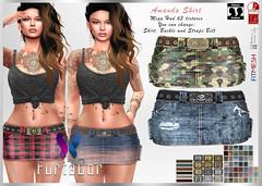FurtaCor Amanda Skirt Jeans