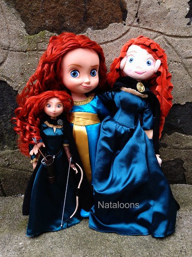 Disney Store Merida Dolls