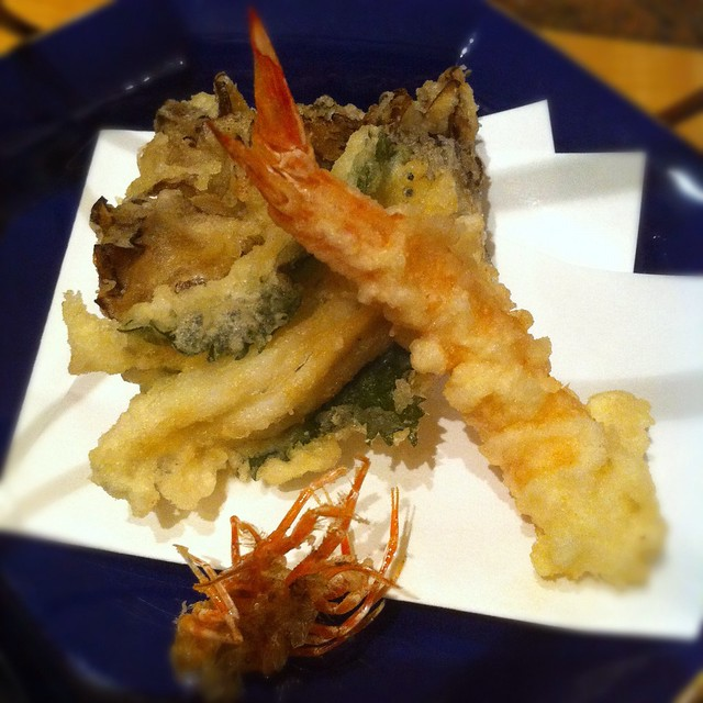 Mixed Tempura - Seafood