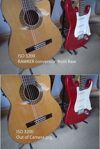 Olympus OM-D EM-5 Raw - ISO 3200