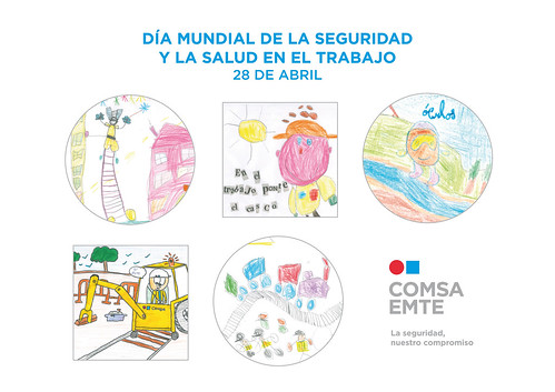 COMSA EMTE, with the World Day for Safety and Health at Work