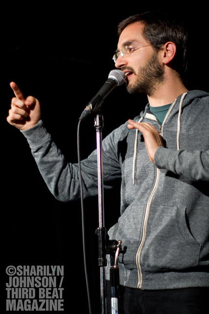 7105146419 576ecffd32 z Caught Live: Myq Kaplan at Comedy Bar in Toronto