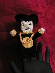Mr Vampire Finger Puppet