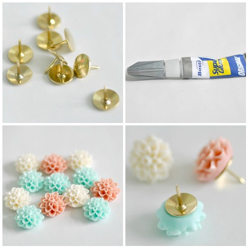 Making pretty thumb tacks