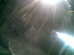 Light in dark dusty places