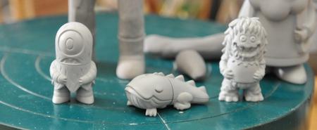 Micro Kaiju Prototypes (via J.ME.)