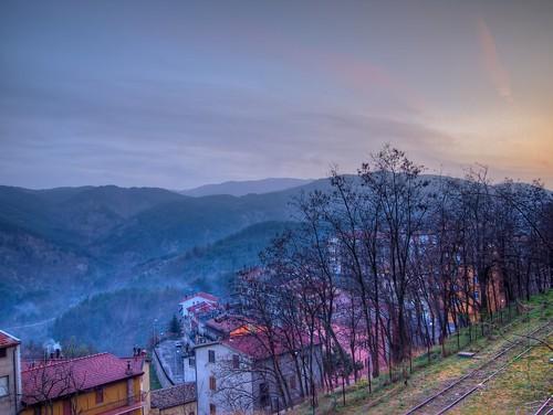 Calabria sunset