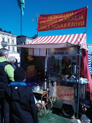 Churros en Helsinki