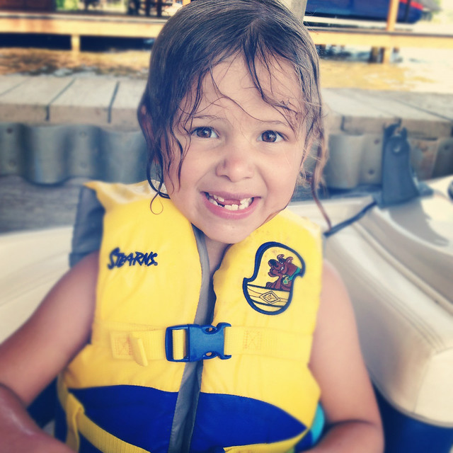 avery in life jacket insta