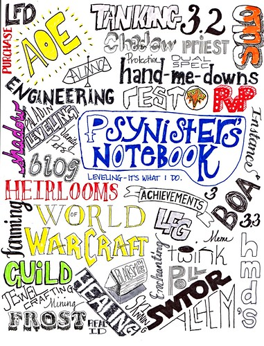 Psynister's Notebook Tag Cloud