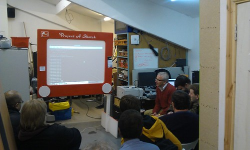 Jon from Blackpool LUG talks Python, with a Pi