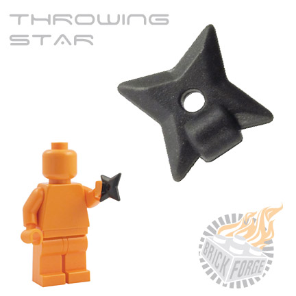 Throwing Star - Carbon