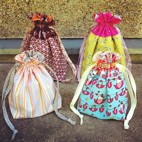Drawstring Bags by jenib320