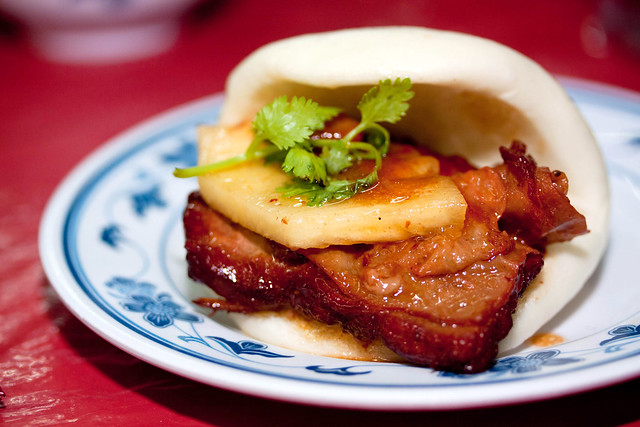 Special Braised Pork Ribs with Flat Buns