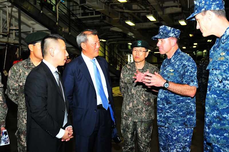 Republic of Korea Military and Civilians Visit USS Bonhomme Richard