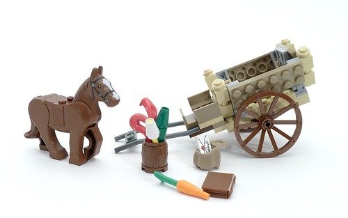 9469 Cart, Horse, and Fireworks