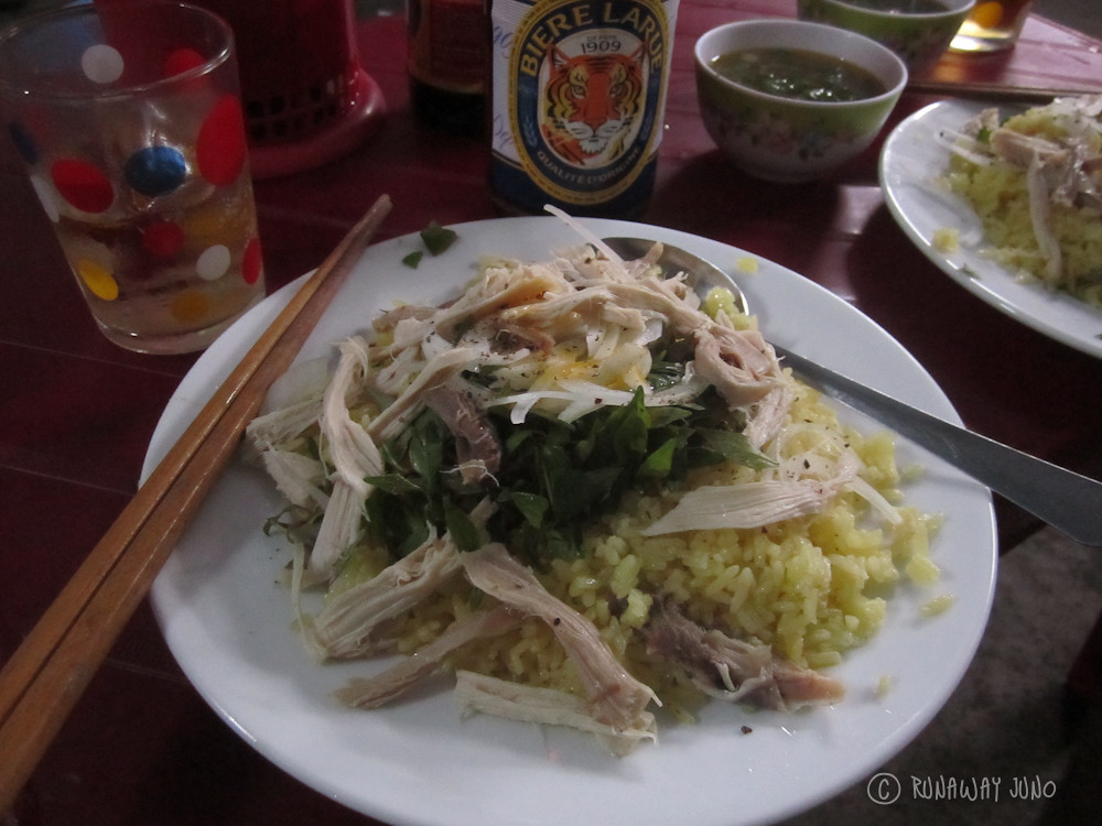Com Ga - Chicken Rice in Hoi An
