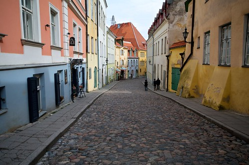 Эстония (часть1 - Вертикальный город Таллин)