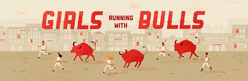girls run with bulls header