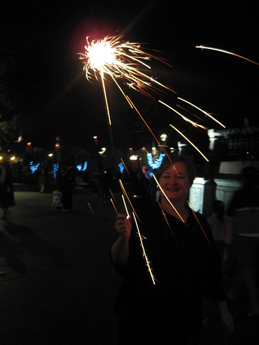 Long sparklers, Oaxaca, Mexico