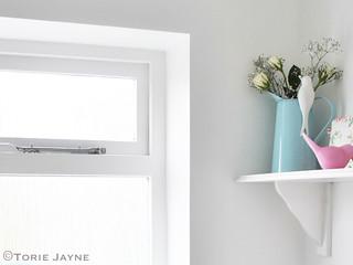 Cloakroom window