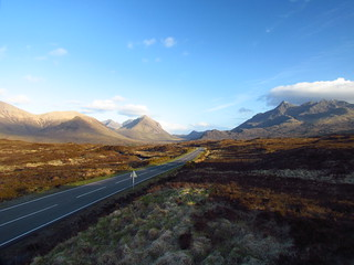 Road through Skye