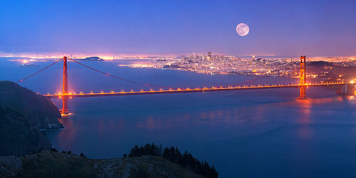 San Francisco Super Moon