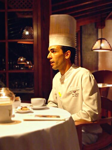 Chef José Marín, La Parrilla, Hotel Botánico