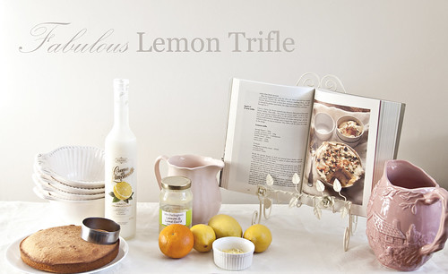 Fabulous Lemon trifle