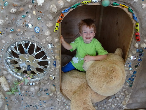 Henry in Cave
