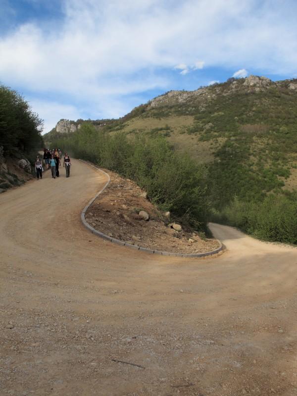 Sur la route des chutes de Skakavac