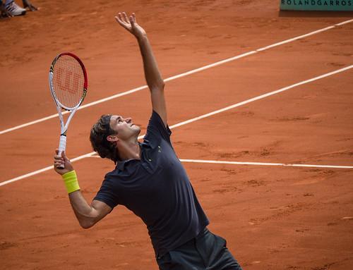 Joueur de tennis : Roger Federer