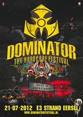 cyberfactory 2012 dominator hardcore festival e3 strand eersel nederland