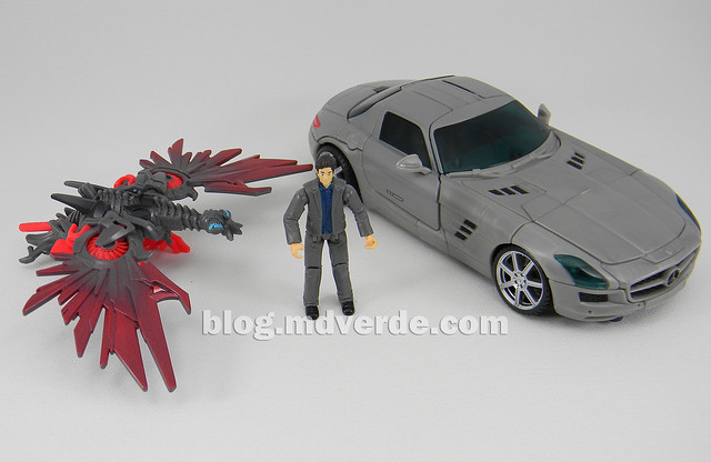 Transformers Soundwave Human Alliance - DotM - modo alterno