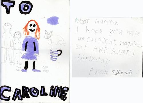 cherubs card