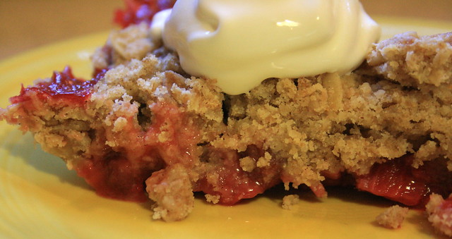 152:366 Strawberry Crumble