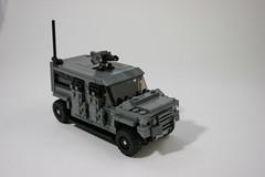 "Engesa ""SOLAR"" Utility Vehicle by Lucas. F."