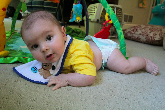 Noah 5 months