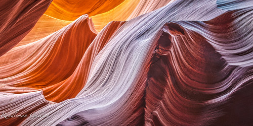 The Wave Antelope Canyon