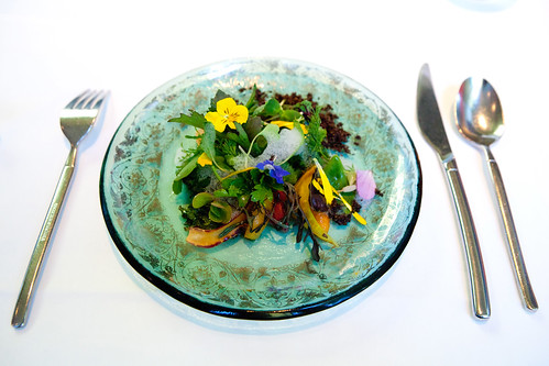 Tasting menu course #3: Into the Spring Garden