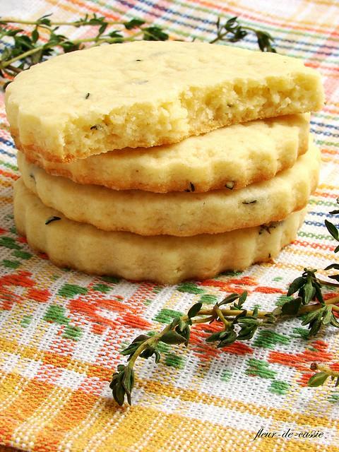 печенье песочное с тимьяном 2