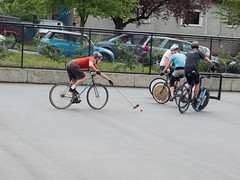 bicycle racing(0.0), bicycle motocross(0.0), road bicycle racing(0.0), racing bicycle(0.0), endurance sports(1.0), road bicycle(1.0), vehicle(1.0), sports(1.0), cycle polo(1.0), sports equipment(1.0), cycle sport(1.0), road cycling(1.0), hardcourt bike polo(1.0), cycling(1.0), bicycle(1.0),