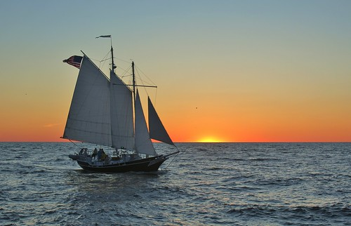 blue sunset usa sun sailboat canon boat sailing ship sundown yacht michigan flag lakemichigan sail celebrities grandhaven latespring twomaster mygearandme mygearandmepremium mygearandmebronze mygearandmesilver mygearandmegold mygearandmeplatinum mygearandmediamond photographyforrecreation jannagal jannagalski pfrclassic