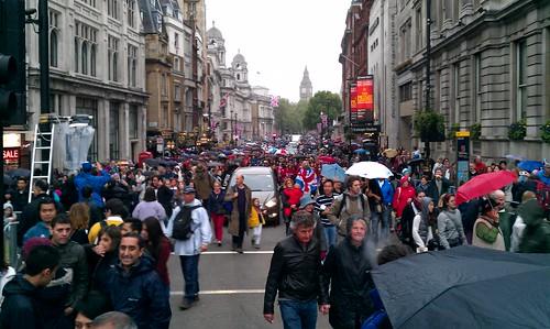 Jubilee crowds