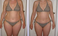 hcg diet sample before-and-after