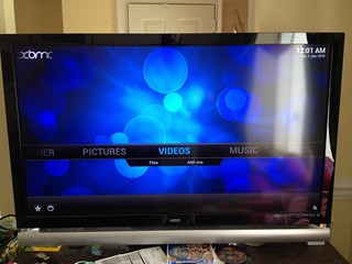 Raspberry Pi running OpenELEC with XBMC