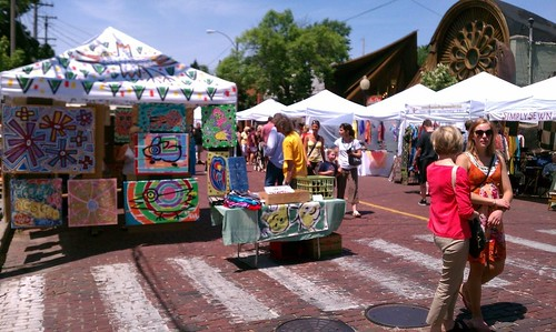 Ptw Bizarre Bazaar in Easttown earlier today