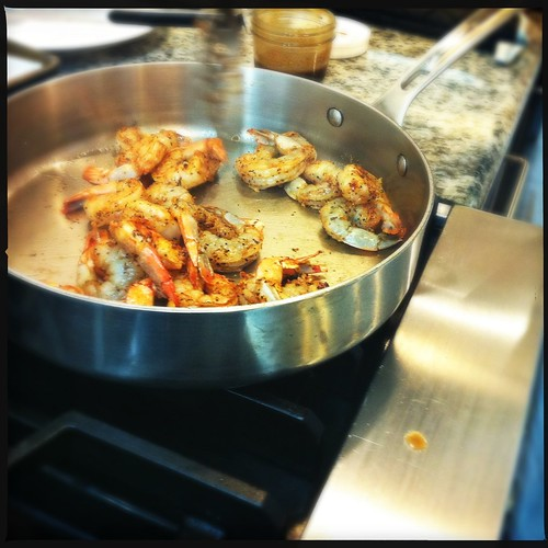 Shrimp, Viking Cooking School, Memphis, Tenn.