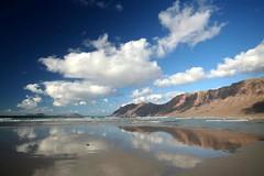 Playa de Famara.Lanzarote
